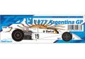 ** お取り寄せ商品 ** WOLF Models 20078 1/20 サーティース TS19 1977 Argentina GP