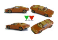 YOW Modellini K104 ランボルギーニ JALPA Proto Bertone 1/43キット