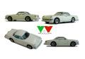 YOW Modellini K099 アルファロメオ 2000 Sestriere pininfarina 1/43キット