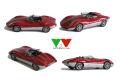 YOW Modellini K129 アルファロメオ BREZZA Spider Concept 1/43キット