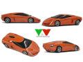 YOW Modellini K143 ランボルギーニ ALAR Concept 1/43キット