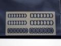 Z Model 1/43 半楕円ミラー面&枠 【メール便可】