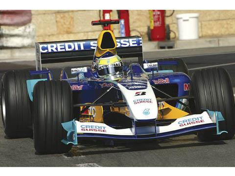 TAMEO kit SLK011 Sauber C23 Monaco GP 2004 Fisichella /Massa