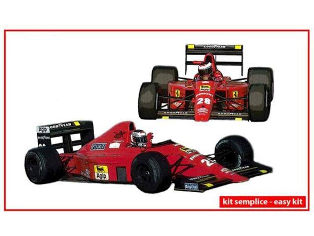 ** 予約商品 ** TAMEO SLK130 Ferrari F1-89 Portugal GP 1989 G.Berger / N.Mansell