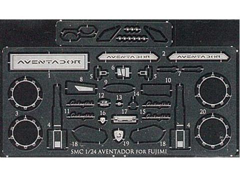 SMC E002 1/24 AVENTADOR エッチングパーツ for Fujimi