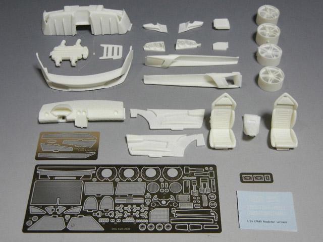 SMC TK004B 1/24 LP640 ベルサーチ ロードスター コンバージョンキット (for Fujimi)