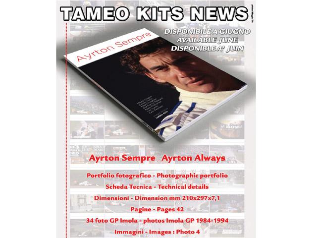 書籍 TAMEO セナ写真集 Ayrton Sempre - Ayrton Always