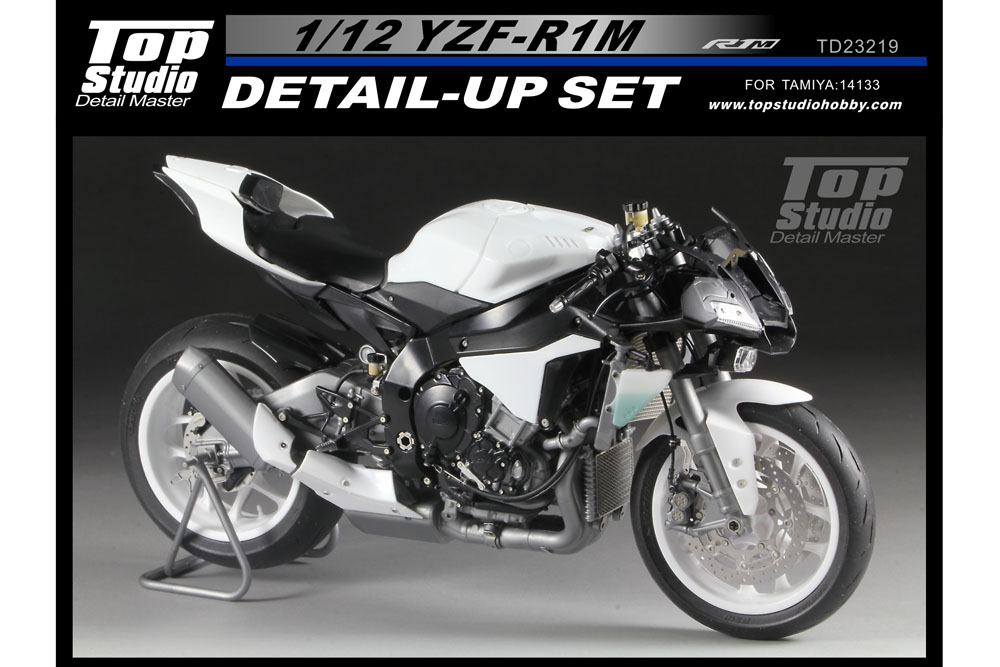 TOP STUDIO TD23219 1/12 Yamaha YZF-R1M Detail-up set