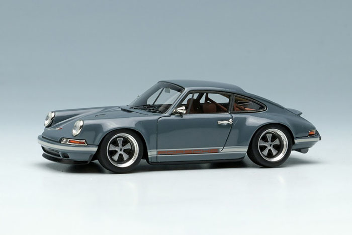 Titan64 TM001B 1/64 Porsche Singer 911(964) Coupe Gray