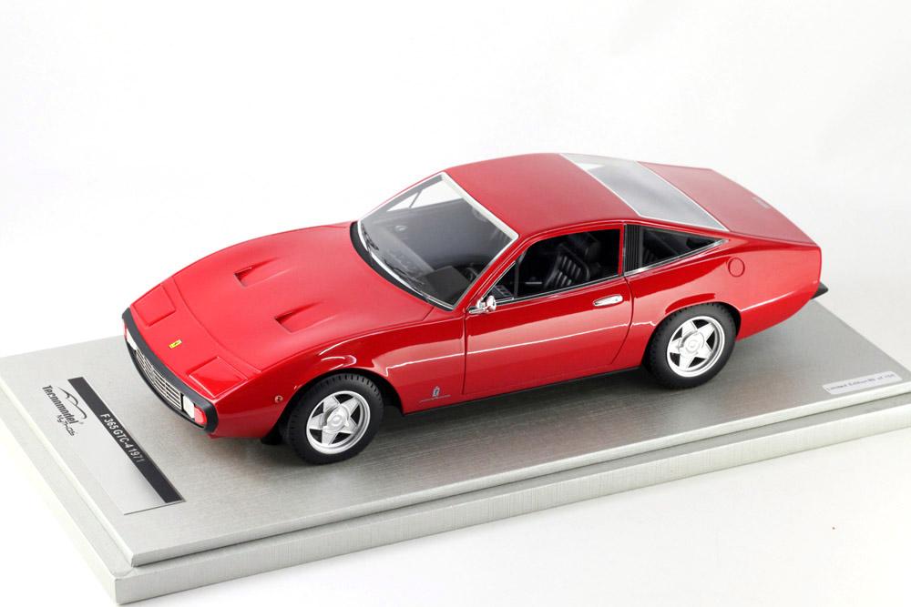 Tecno Model TM18-92A 1/18 Ferrari 365 GTC 4 1971 Rosso Corsa Limited 150pcs
