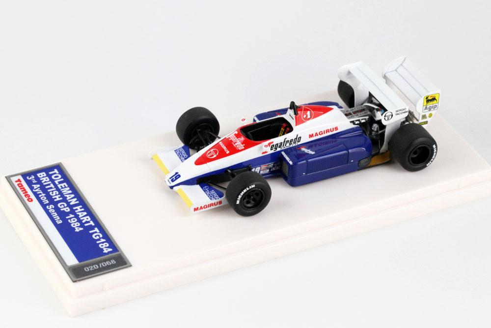 TAMEO TMB053 トールマン Hart TG184 イギリスGP 1984 A.セナ