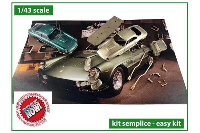 TAMEO kit TMK440 Ferrari 400 Super America 1962 Owned by Enzo Ferrari