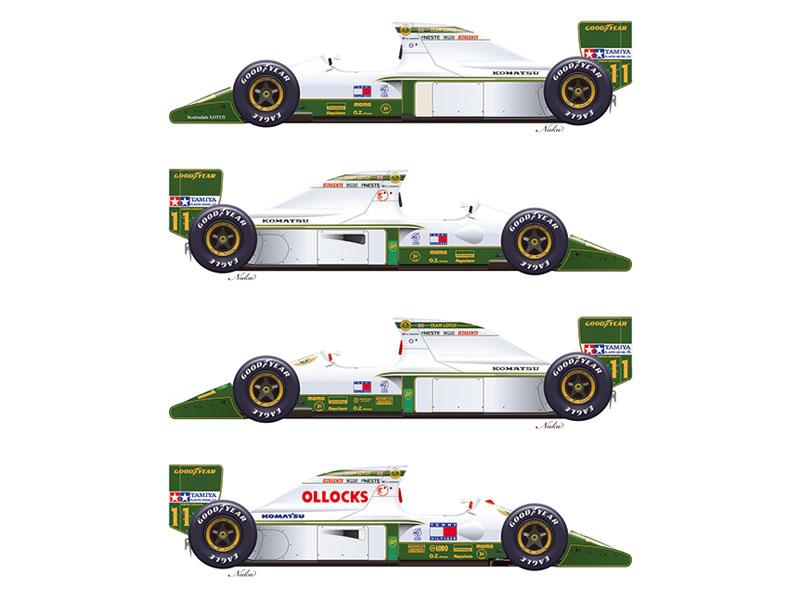 Vector Magic Decals 20004 1/20 Lotus 102B 1991 Part1 【メール便可】