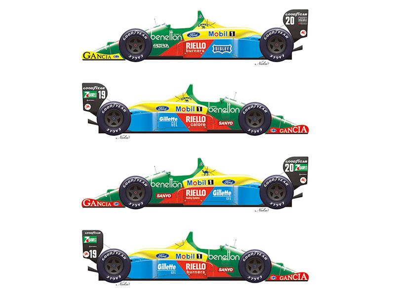 Vector Magic Decals 20005 1/20 Benetton B188 1988 /1989 Second Edition 【メール便可】