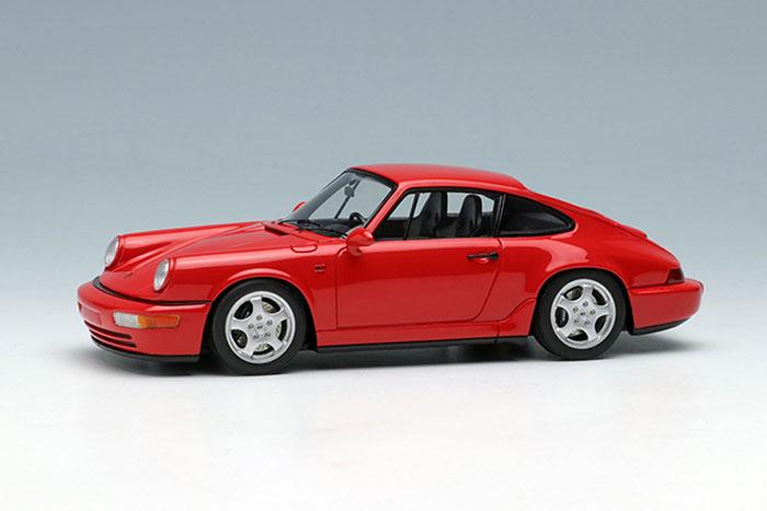【お取り寄せ商品】 VISION VM122F Porsche 911(964) Carrera RS 1992 Guards Red