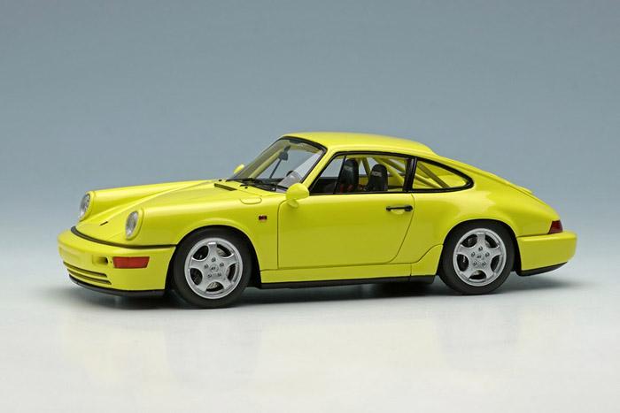 VISION VM142F Porsche 911(964) Carrera RS NGT 1992 Light Yellow