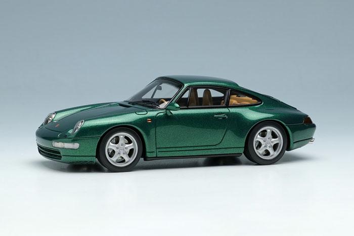 VISION VM145D Porsche 911(993) Carrera4 1995 Metallic Dark green Limited 40pcs