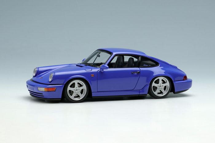 VISION VM149A Porsche 911(964) Carrera RS 1992 [Ruf Wheel] Maritime Blue Limited 50pcs