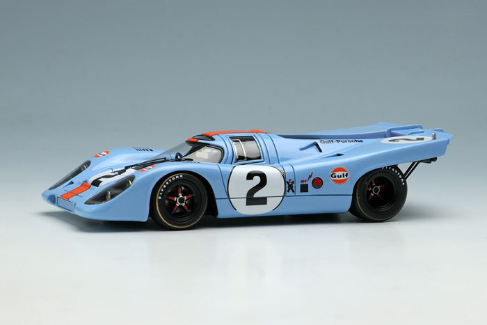 VISION VM211A Porsche 917K Gulf Racing Daytona 24h 1971 No.2 Winner Limited 180pcs