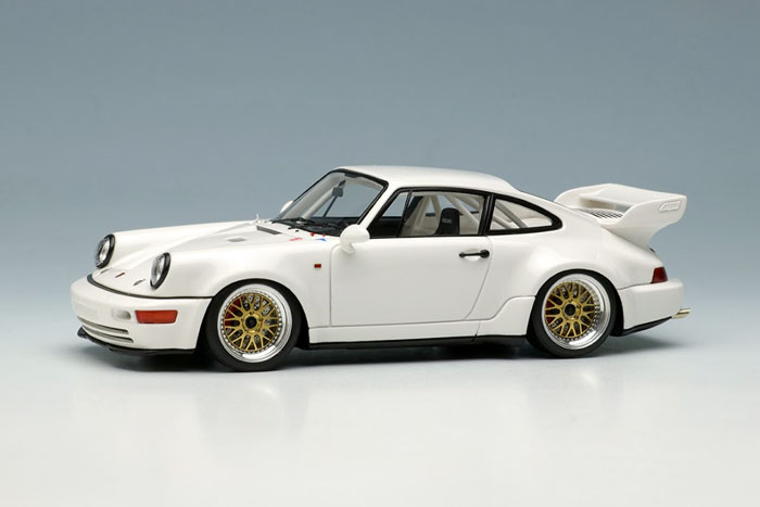 VISION VM214A Porsche 911 (964) RSR 3.8 1993 (BBS wheel) White Limited 120pcs