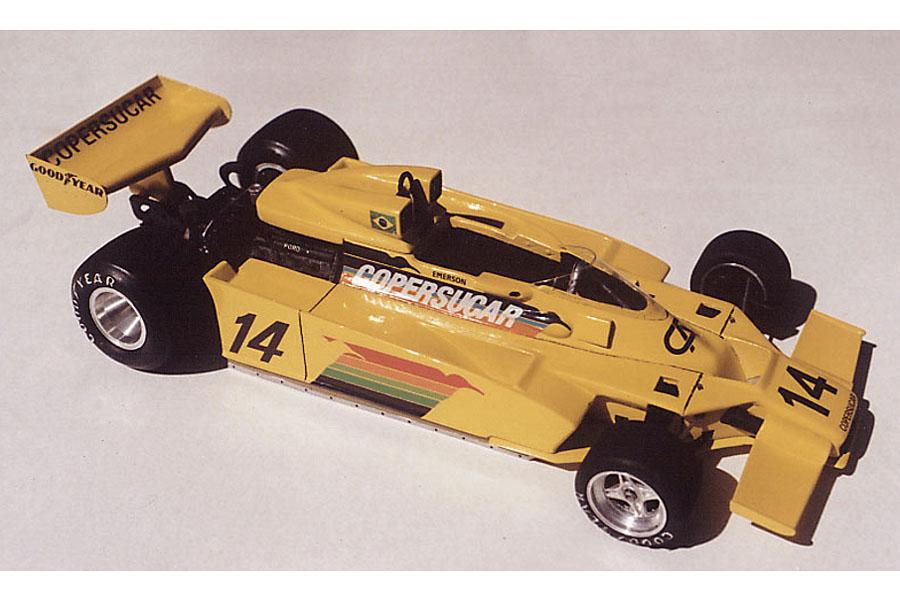 ** お取り寄せ商品 ** Neko Models FK2009 1/20 フィッティパルディ F5A 1978 ブラジルGP