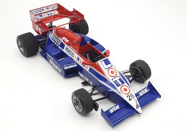 Orenge House 2071 1/20 Ligier JS23 France GP 1984