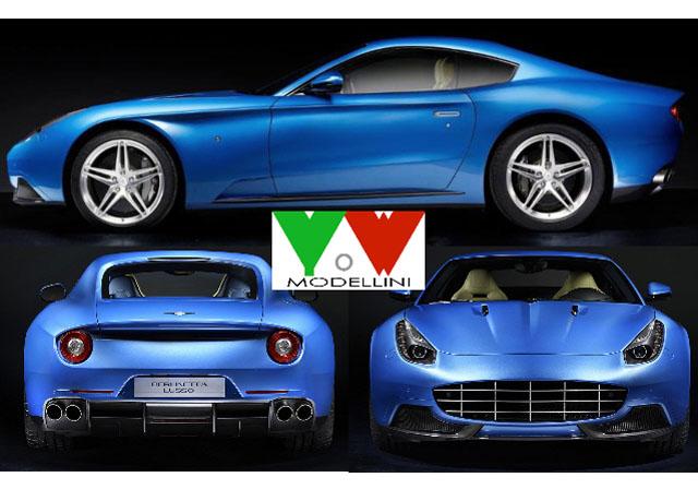 ** 予約商品 ** YOW Modellini K140 Ferrari Berlinetta Lusso Touring 1/43キット