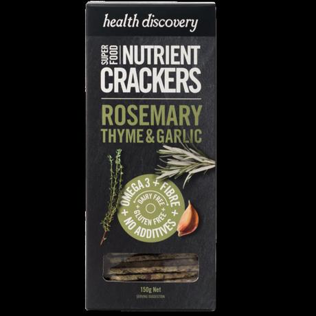 スーパーフードクラッカー Rosemary & Thyme
