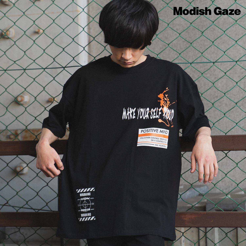 半袖 Tシャツ(貼付け+プリント)|ストリートカジュアル通販RAD CHAMP