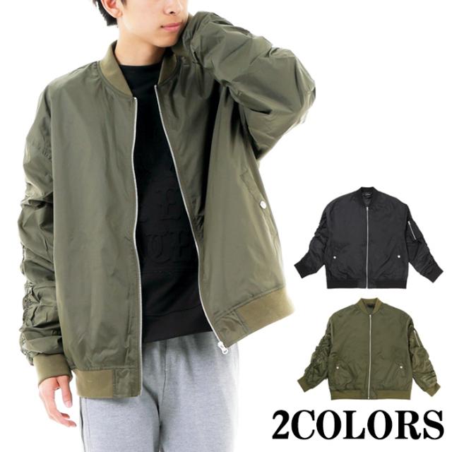 【2017秋冬新作】ナイロン BIG MA-1ジャケット