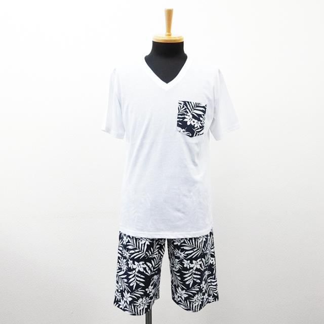 【2017春夏新作】ポケ付きTシャツ×ハーフパンツ セットアップ(4柄24組セット)|ストリートカジュアル通販RAD CHAMP