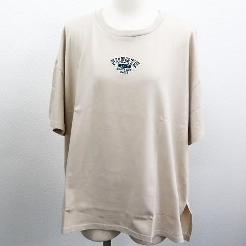 【2021春夏新作】20/-天竺 ボックスTシャツ(カレッジ ミニロゴ 刺繍)|ストリートカジュアル通販RAD CHAMP
