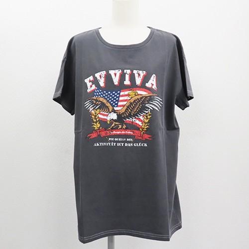 【2021春夏新作】20/-天竺 ピグメント Tシャツ(イーグル)|ストリートカジュアル通販RAD CHAMP