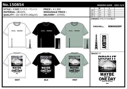 【2021春夏新作】20/-OE天竺 裾ファスナー 半袖Tシャツ(風景フォト+ロゴ)|ストリートカジュアル通販RAD CHAMP