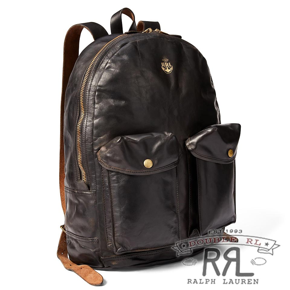RRL/ダブルアールエル : Leather Mitchell Backpack [レザー/バックパック]