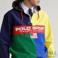 大きいサイズのラルフローレン : Polo Sport Rugby Pullover [POLO SPORT/カラーブロック/プルオーバー]