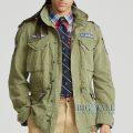 大きいサイズのラルフローレン : Cotton Twill Field Jacket [ミリタリー/フィールドジャケット]