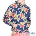 大きいサイズのラルフローレン : Floral Cotton Spa Terry Hoodie [キングサイズ(日本の4L以上)/フローラル/パーカー]