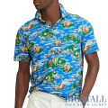 大きいサイズのラルフローレン : Classic Fit Jersey Polo Shirt [キングサイズ/軽量柔らか/アイランド柄/半袖ポロシャツ]