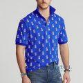 大きいサイズのラルフローレン : Classic Fit Pineapple Polo [パイナップル/半袖ポロシャツ]
