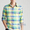 大きいサイズのラルフローレン : Classic Fit Plaid Oxford Shirt [オックス/チェック/長袖シャツ]