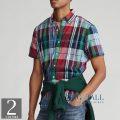 大きいサイズのラルフローレン : Classic Fit Madras Shirt [マドラス/チェック/半袖シャツ]
