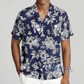 大きいサイズのラルフローレン : Classic Fit Bear Shirt [トロピカルポロベアー/ハワイアン/半袖シャツ]