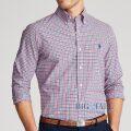 大きいサイズのラルフローレン : Plaid Poplin Shirt [ポプリン/チェック/長袖シャツ]