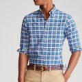 大きいサイズのラルフローレン : Plaid Oxford Shirt [オックス/チェック/長袖シャツ]