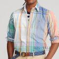 大きいサイズのラルフローレン : Plaid Oxford Shirt [キングサイズ/オックス/チェック/長袖シャツ]