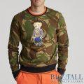 大きいサイズのラルフローレン : Polo Bear Camo Sweatshirt [迷彩/ポロベアー/スウェットシャツ]