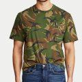 大きいサイズのラルフローレン : Classic Fit Camo T-Shirt [迷彩/ポケット/半袖Tシャツ]