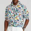 大きいサイズのラルフローレン : Polo Bear Jersey Hooded T-Shirt [キングサイズ/トロピカルレジャーポロベアー/長袖フードTシャツ]