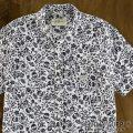デニム&サプライ : Skull-and-Floral Sport Shirt [スカル&フローラル/超軽量/半袖シャツ]
